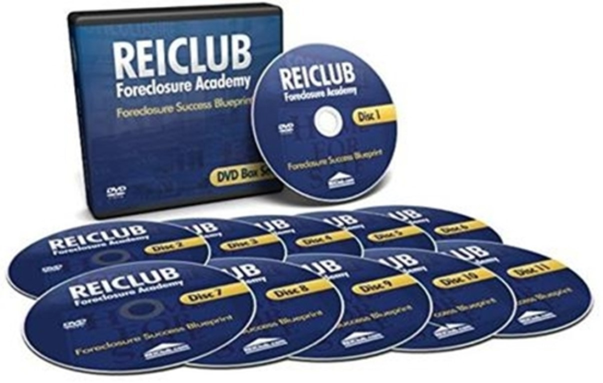 REIClub - Foreclosure Academy - 3 Day Boot Camp on 11 DVD's